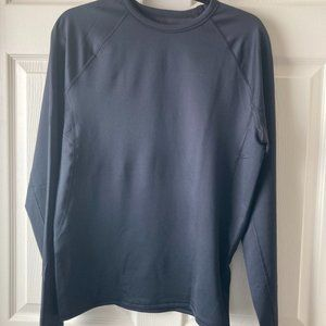 All in Motion Thermal Shirt Black Large New